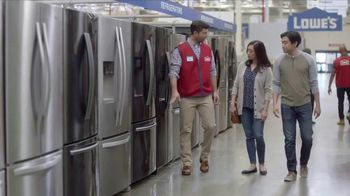 Lowe's TV Spot, 'The Moment: Refrigerator' - Thumbnail 3