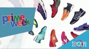 Tennis Express Prime Week TV Spot, 'Shoes, Apparel and Racquet Specials'