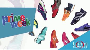 Tennis Express Prime Week TV Spot, 'Shoes, Apparel and Racquet Specials'