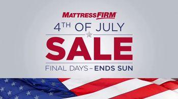 Mattress Firm 4th of July Sale TV Spot, 'Hampton & Rhode Queen Sets' - Thumbnail 5