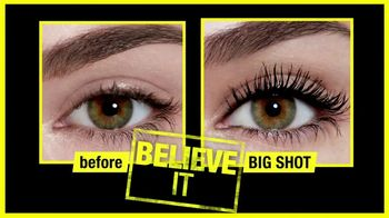 Maybelline New York Big Shot Mascara TV Spot, 'Power Up' - Thumbnail 8