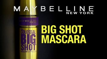 Maybelline New York Big Shot Mascara TV Spot, 'Power Up' - Thumbnail 9