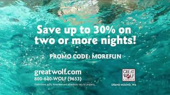 Great Wolf Lodge TV Spot, 'Everything Under One Roof' - Thumbnail 10