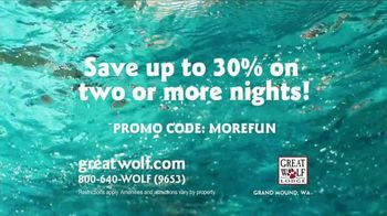 Great Wolf Lodge TV Spot, 'Everything Under One Roof' - Thumbnail 8