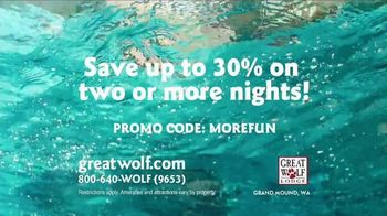 Great Wolf Lodge TV Spot, 'Everything Under One Roof' - Thumbnail 9