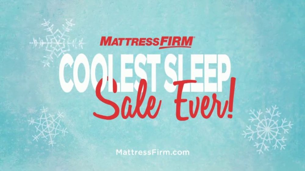 Mattress Firm Coolest Sleep Sale Ever Tv Commercial