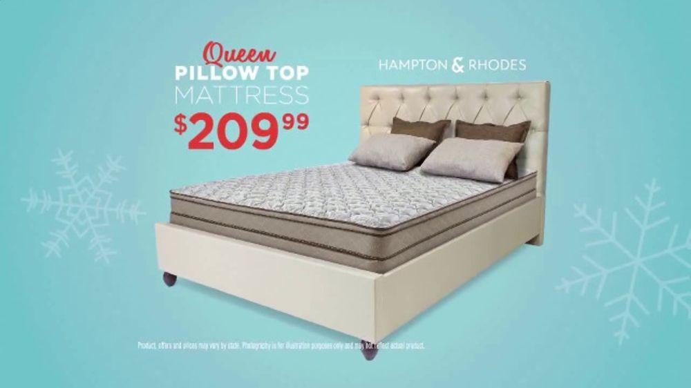 Hampton And Rhodes Mattress >> Mattress Firm Coolest Sleep Sale Ever TV Commercial, 'Brands You Love' - iSpot.tv