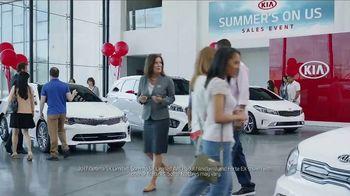 Kia Summer's on Us Sales Event TV Spot, 'Jet Ski' [T2] - Thumbnail 1