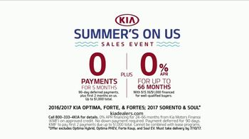 Kia Summer's on Us Sales Event TV Spot, 'Jet Ski' [T2] - Thumbnail 10