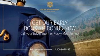 Rocky Mountaineer TV Spot, 'Glimpses of Amazing!' - Thumbnail 8