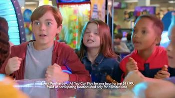 Chuck E. Cheese's TV Spot, 'All You Can Play Wednesday' - Thumbnail 7