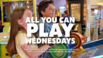 Chuck E. Cheese's TV Spot, 'All You Can Play Wednesday' - 1015 commercial airings