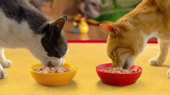 Friskies Extra Gravy Chunky TV Spot, 'Purradise' - Thumbnail 7