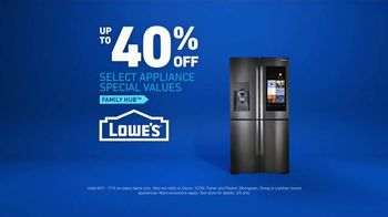 Lowe's TV Spot, 'The Moment: Grocery List' - Thumbnail 8