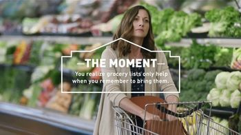 Lowe's TV Spot, 'The Moment: Grocery List' - Thumbnail 2