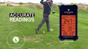 Voice Caddie TV Spot, 'Swing Caddie: Accuracy In The Palm Of Your Hand' - 506 commercial airings