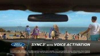 Ford Summer Sales Event TV Spot, 'Secret Spot: SYNC 3' Song by Owl City [T2] - 3 commercial airings