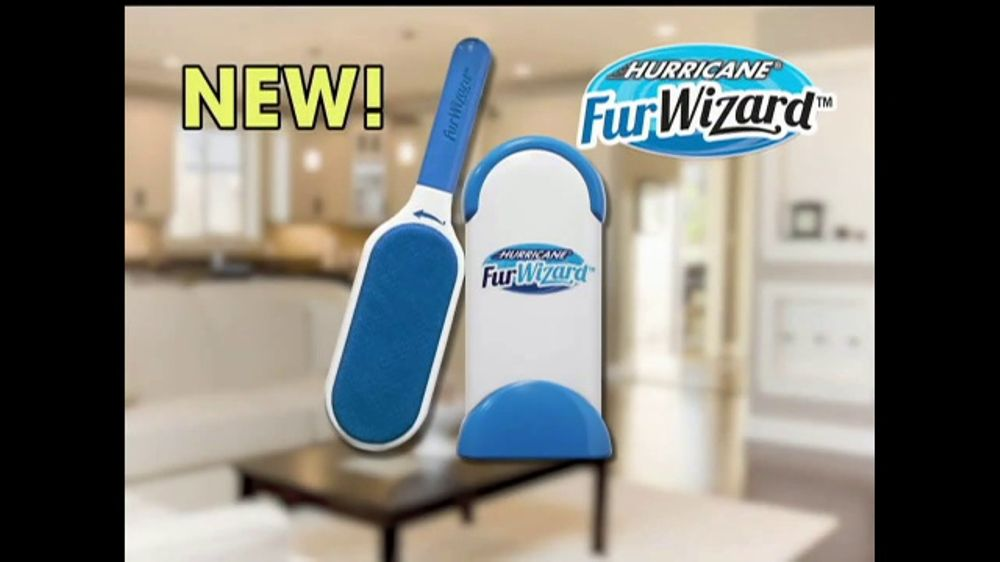 Hurricane Fur Wizard Tv Commercial Double Sided Action