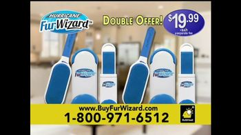 Hurricane Fur Wizard TV Spot, 'Double-Sided Action' - Thumbnail 9