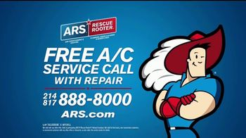 ARS Rescue Rooter TV Spot, 'Free Air Conditioner Service Call' - Thumbnail 10