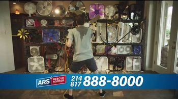 ARS Rescue Rooter TV Spot, 'Free Air Conditioner Service Call' - Thumbnail 4