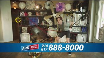 ARS Rescue Rooter TV Spot, 'Free Air Conditioner Service Call'