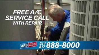 ARS Rescue Rooter TV Spot, 'Free Air Conditioner Service Call' - Thumbnail 8