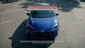2017 Toyota Corolla TV Spot, 'Evolutionary Safety Features' [T1] - Thumbnail 7