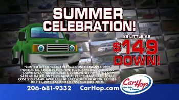 CarHop Auto Sales & Finance Summer Celebration TV Spot, 'Saying Yes' - Thumbnail 2