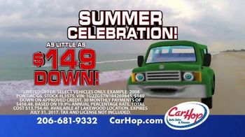 CarHop Auto Sales & Finance Summer Celebration TV Spot, 'Saying Yes' - Thumbnail 5