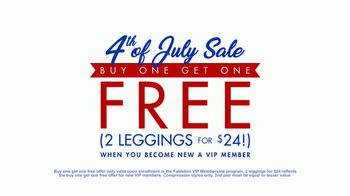 Fabletics.com 4th of July Sale TV Spot, 'Lightest Leggings' - Thumbnail 7
