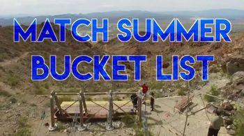 Match.com TV Spot, 'Summer Bucket List Series: Zip Lining' - Thumbnail 2