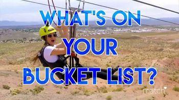 Match.com TV Spot, 'Summer Bucket List Series: Zip Lining' - Thumbnail 7