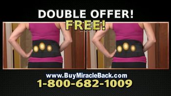 Miracle Back TV Spot, 'Relieve Achy Backs' - Thumbnail 9
