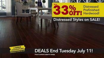 Lumber Liquidators TV Spot, 'Distressed Looks' - Thumbnail 4