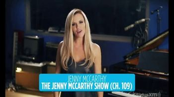 SiriusXM Satellite Radio TV Spot, 'We Have It' Featuring Jenny McCarthy - 1 commercial airings