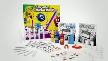 Crayola Silly Scents Marker Maker TV Spot, 'Nose Challenge' - Thumbnail 9
