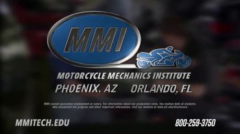 Motorcycle Mechanics Institute TV Spot, 'Passion and Power' - Thumbnail 6