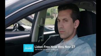 SiriusXM Satellite Radio Free Listening Event TV Spot, 'Push It'