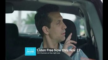 SiriusXM Satellite Radio Free Listening Event TV Spot, 'Push It' - Thumbnail 5