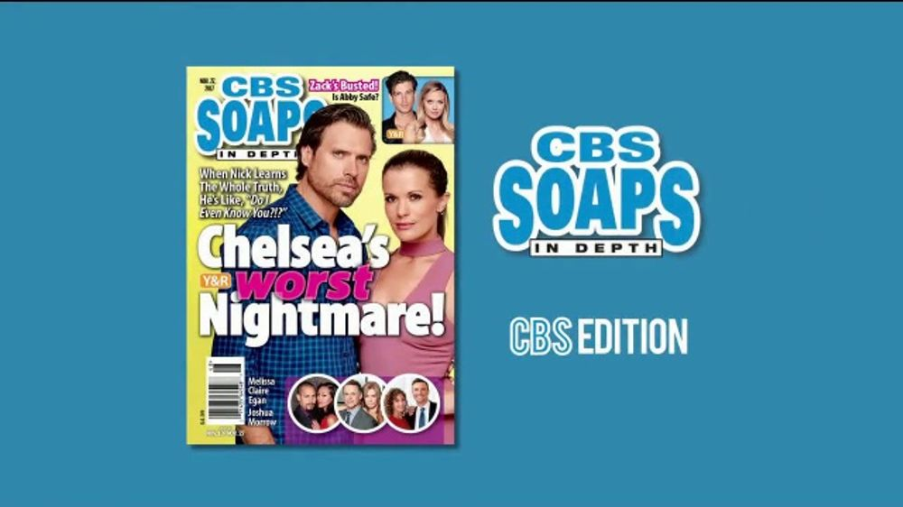 CBS Soaps in Depth TV Commercial, 'Young & Restless: Nightmare'