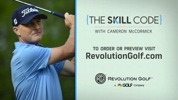 Revolution Golf TV Spot, 'Skill Code' Featuring Cameron McCormick - Thumbnail 9