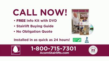 Acorn Stairlifts TV Spot, 'The Perfect Solution'