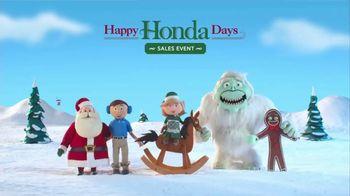 Happy Honda Days Sales Event TV Spot, 'Famous Helpers: 2017 Civic LX' [T2] - Thumbnail 6
