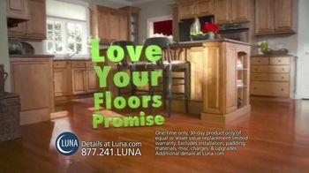 Luna 70 Percent Off Sale TV Spot, 'Shop New Floors This Fall'