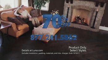 Luna 70% Off Sale TV Spot, 'Shop New Floors This Fall' - Thumbnail 9