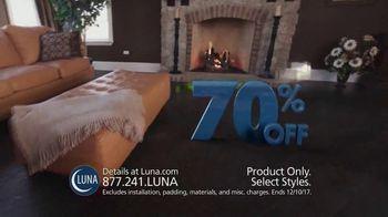 Luna 70% Off Sale TV Spot, 'Shop New Floors This Fall' - Thumbnail 1