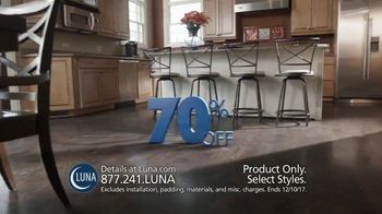 Luna 70% Off Sale TV Spot, 'Shop New Floors This Fall' - Thumbnail 3