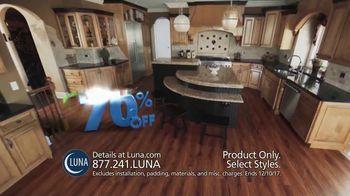 Luna 70% Off Sale TV Spot, 'Shop New Floors This Fall' - Thumbnail 6