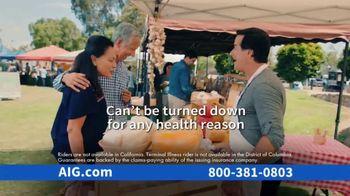 AIG Guaranteed Acceptance Whole Life Insurance TV Spot, 'Not All the Same' - Thumbnail 10